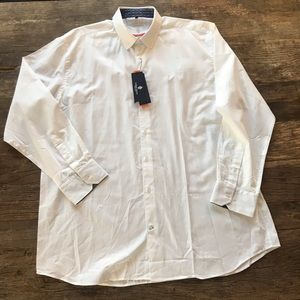 Luchiano Visconti Signature Series White Shirt 2XL